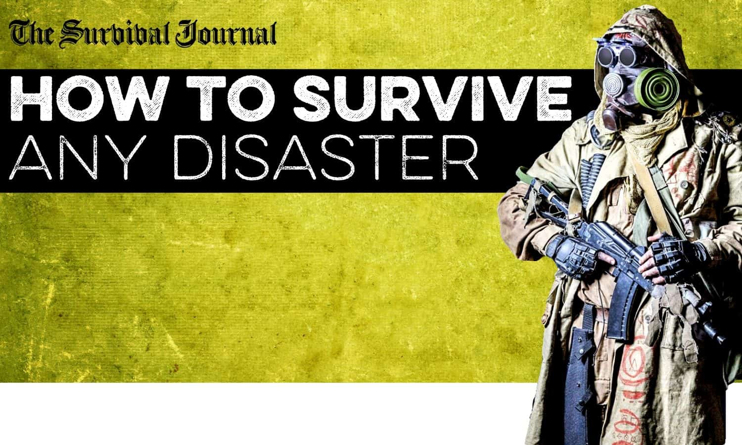 prepare for and survive any disaster
