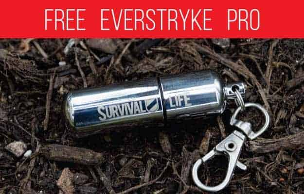 free firestarter waterproof match