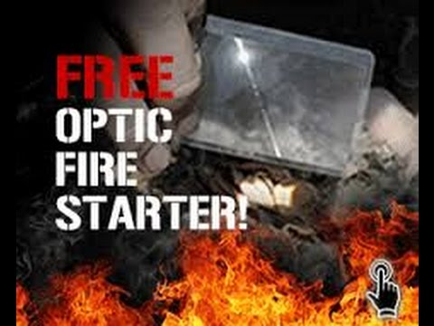 free optic fire starter
