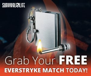 free waterproof match firestarter
