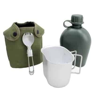 BeGrit outdoor kettle canteen cup kit