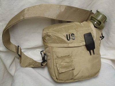 Military issue 2 Quart Water Canteen with New Issue Insulated Carrier and Shoulder Sling review