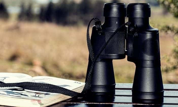 how to make fire with binoculars