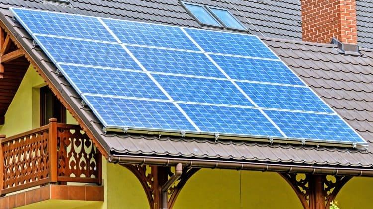 install DIY solar panel