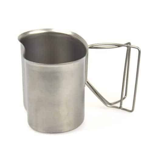 rothco GI type stainless steel canteen cup review