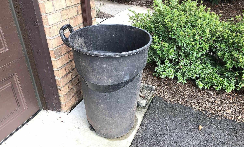 diy composting plastic dustbin