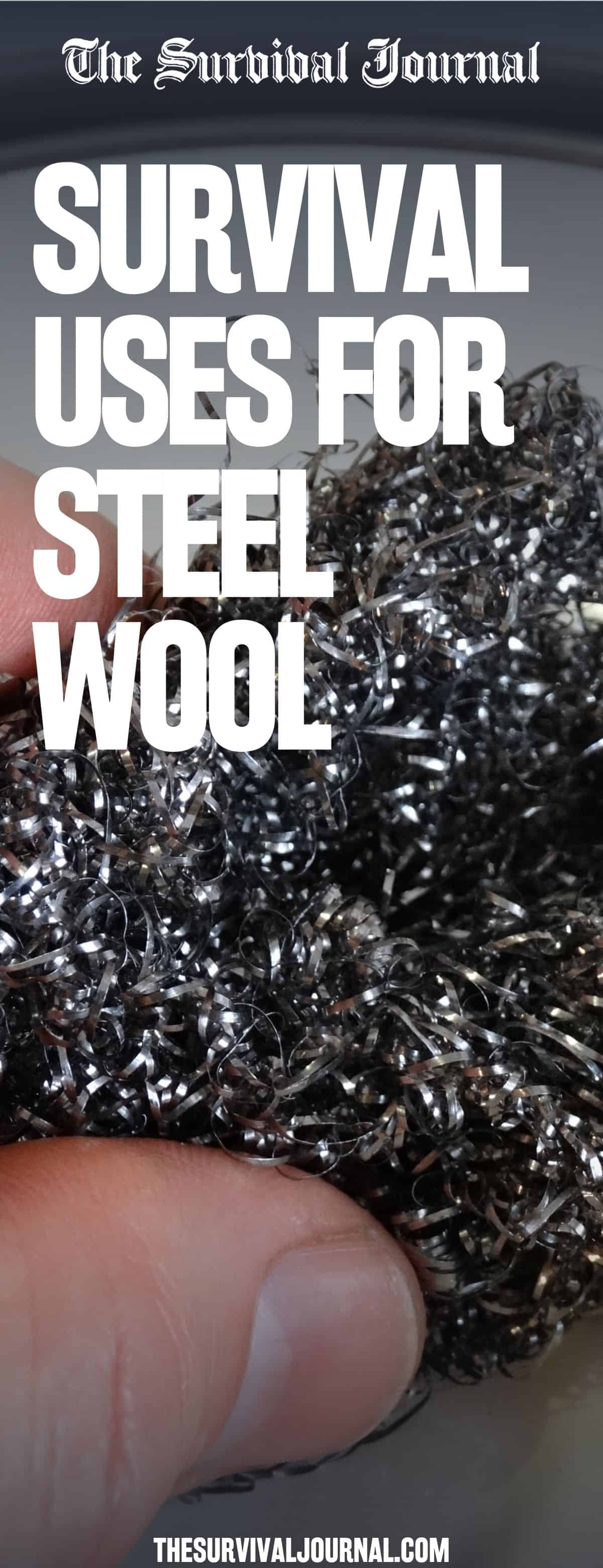 survival uses for steel wool