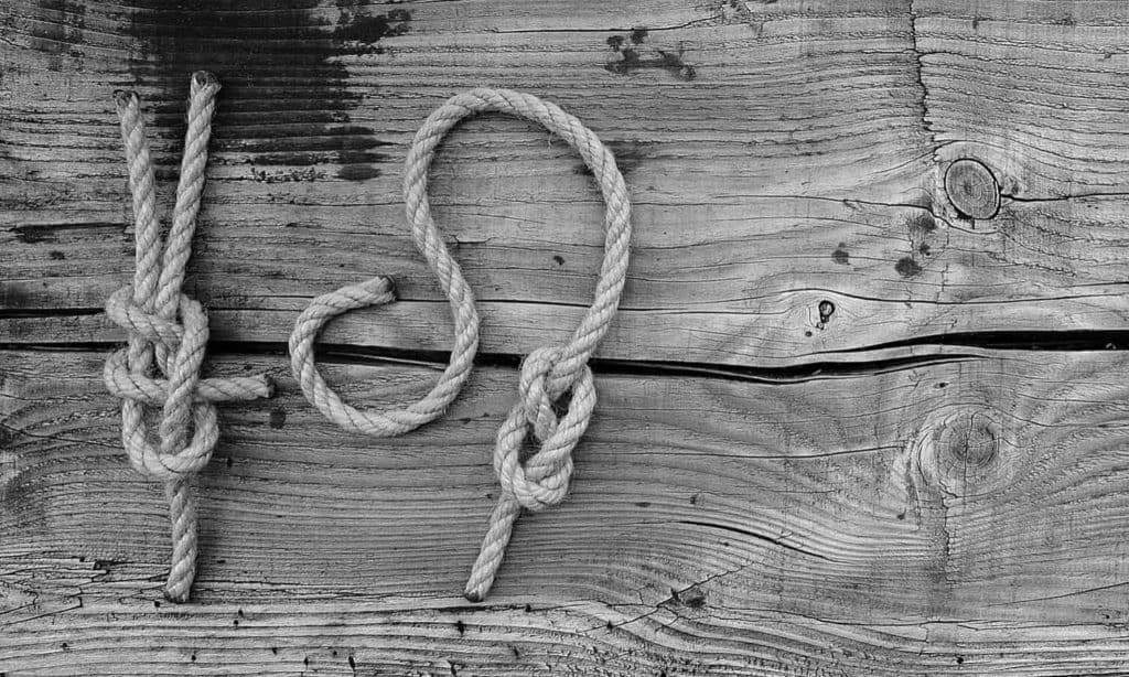 How To Tie a Half-Hitch and Double Half-Hitches Knot (+ their uses)